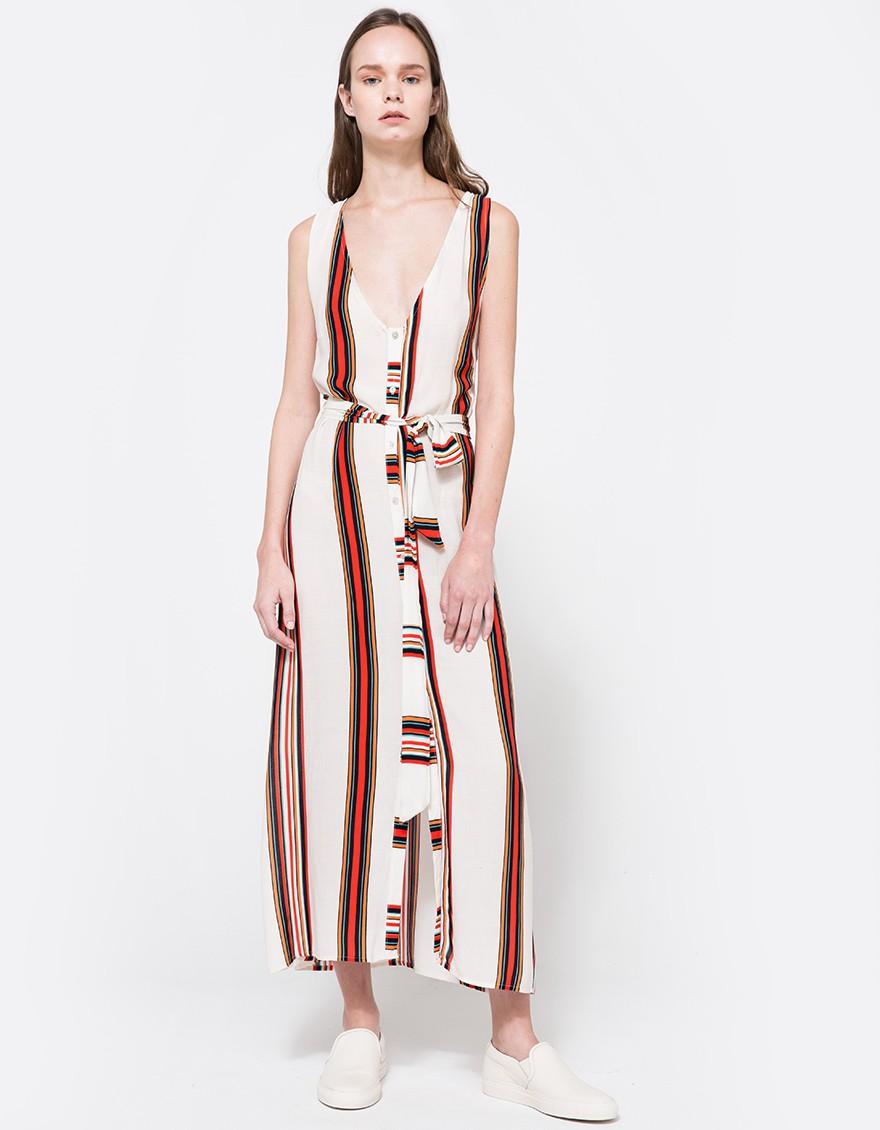 say hi to_ Farrow Luna Button Up Dress