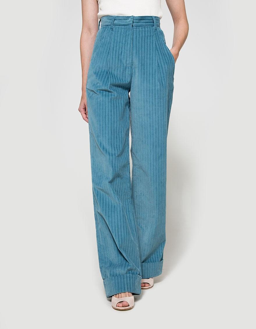 say hi to_ Trademark Corduroy Hi-Waisted Pant
