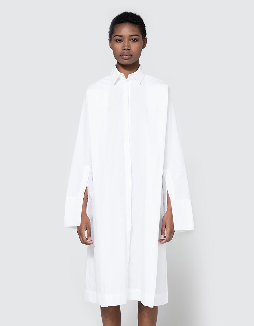 say hi to_ Toit Volant Georgia Long Shirt Dress