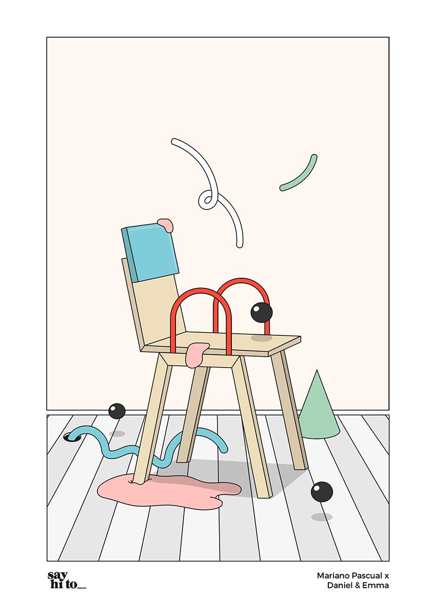 say hi to_ Design Studies   Mariano Pascual x Daniel Emma