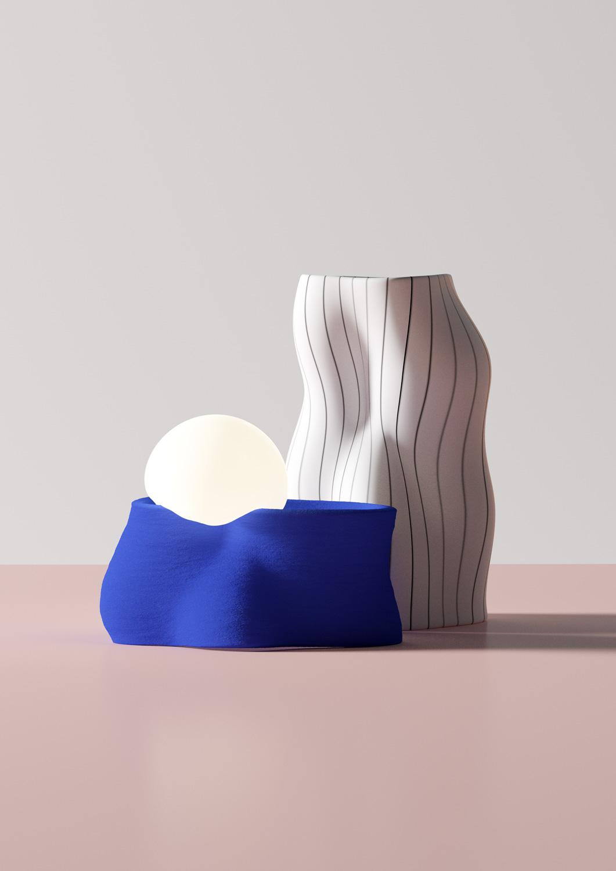 say hi to_ Andres Reisinger Multidisciplinary Designer and Digital Artist from Spain Objets Trouvé Render