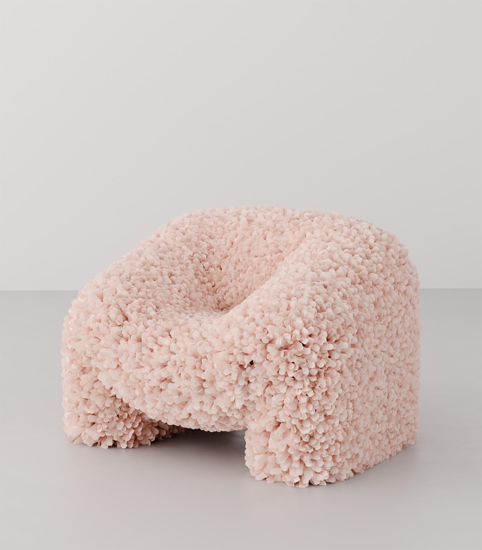say hi to_ Andres Reisinger Multidisciplinary Designer and Digital Artist from Spain Hortensia Chair Render
