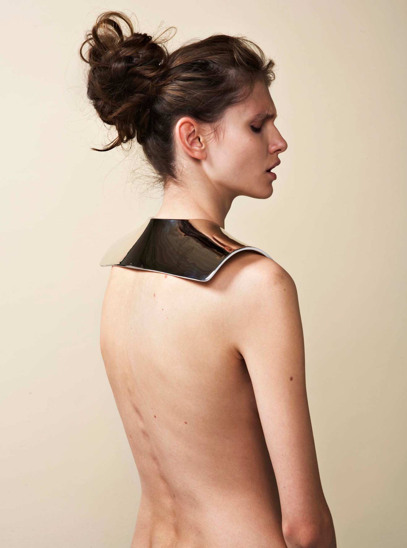 say hi to_ Amelie Riech from Uncommon Matters and the shoulder piece from the AU[79] collection