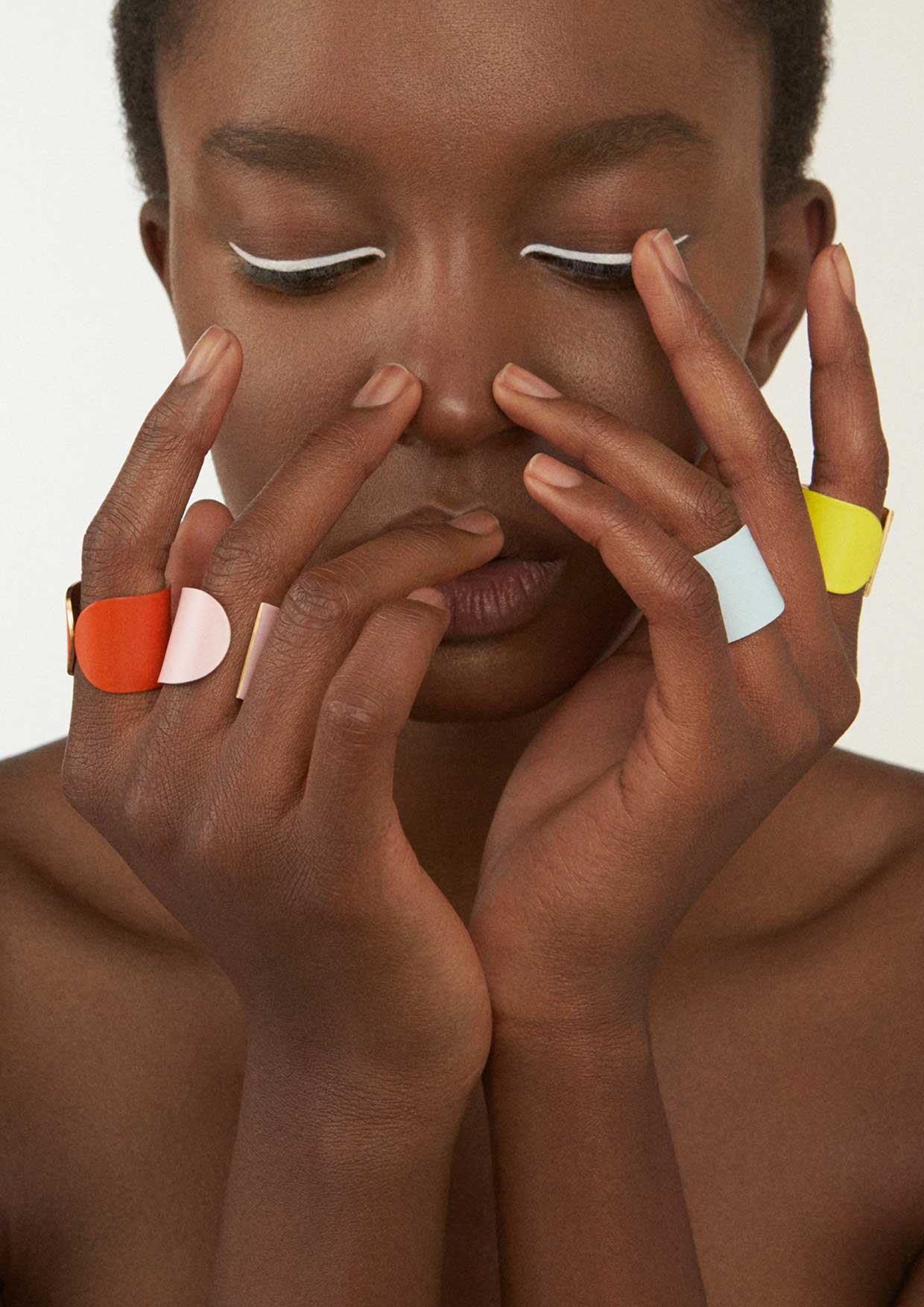 say hi to_ Amelie Riech from Uncommon Matters and the rings from the Bold Rythm collection