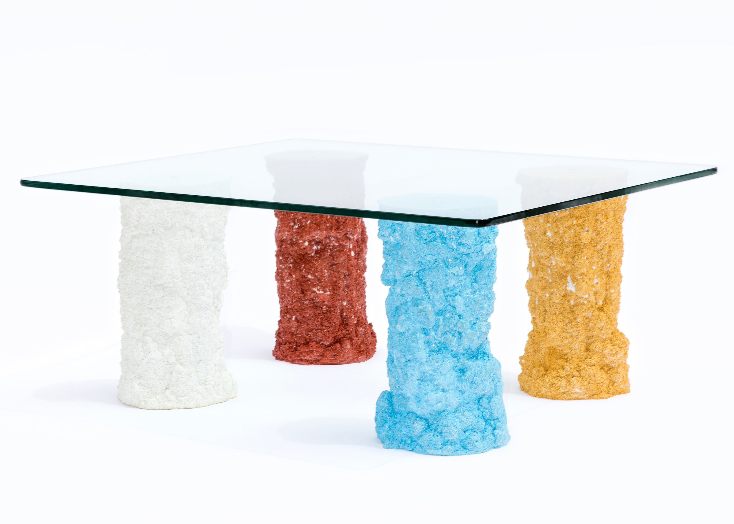 say hi to_ Susan for Susan Furniture and Object Design Duo from Toronto Some Legs Are Different Colours