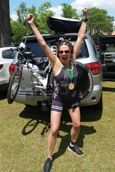 Eleven races: Six triathlons, one 10-miler, two 10ks, one 5ks, two swim races. That's 380.25 miles raced.