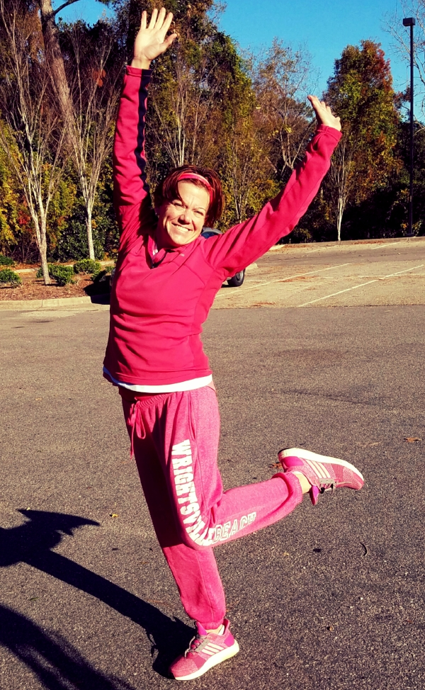 So. Much. Pink. I showed up to yesterday's session in head-to-toe pink.