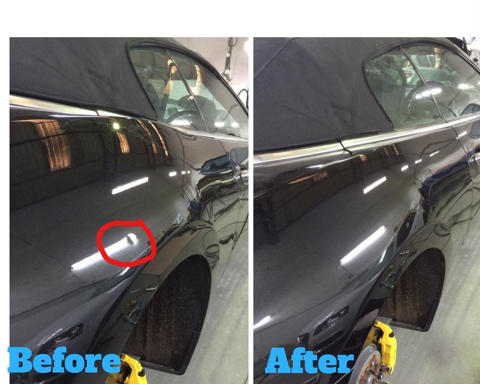 Maserati Dent Repair by Jim at Car Dents