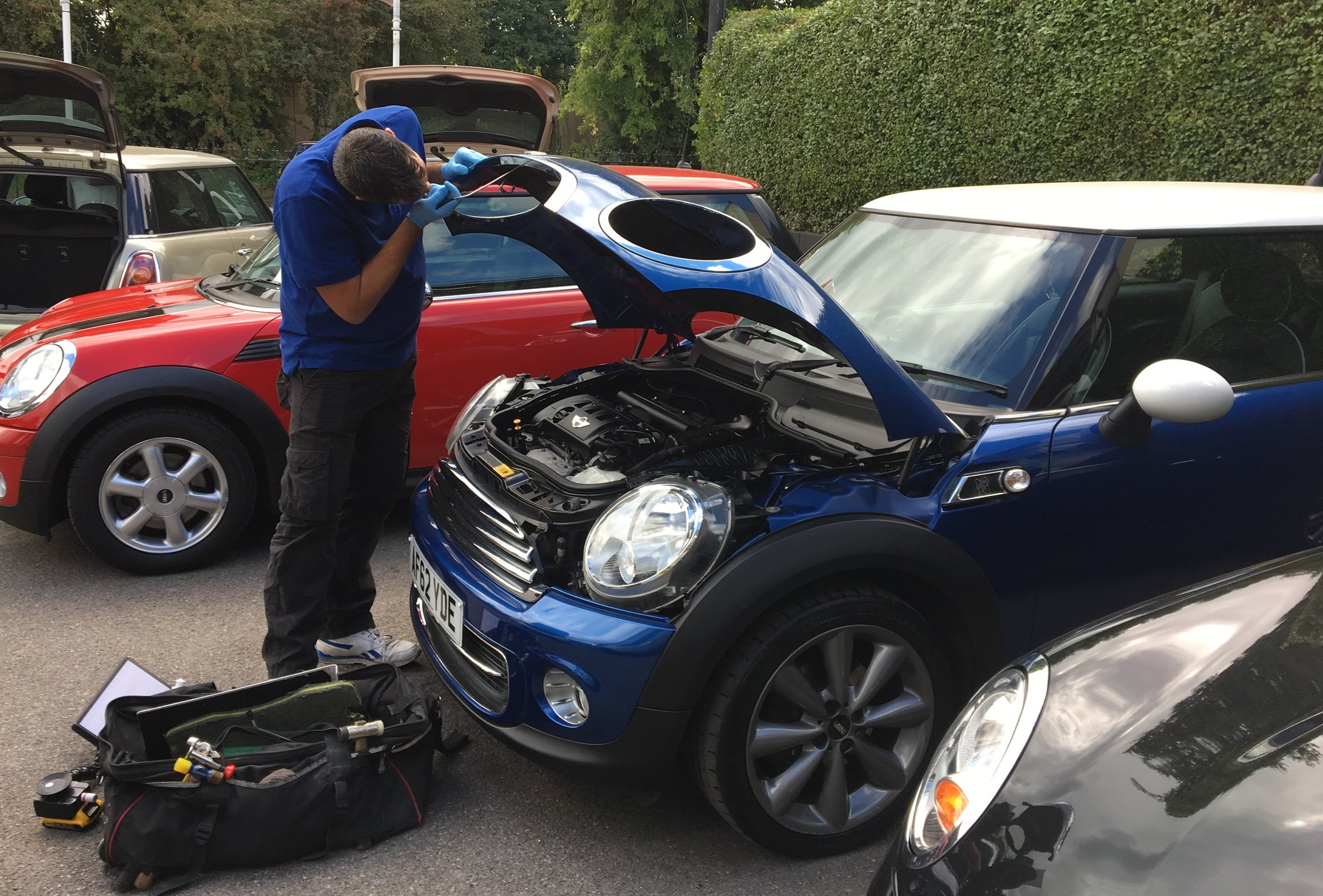 car dent repair portsmouth mini bonnet repair jim new.jpg