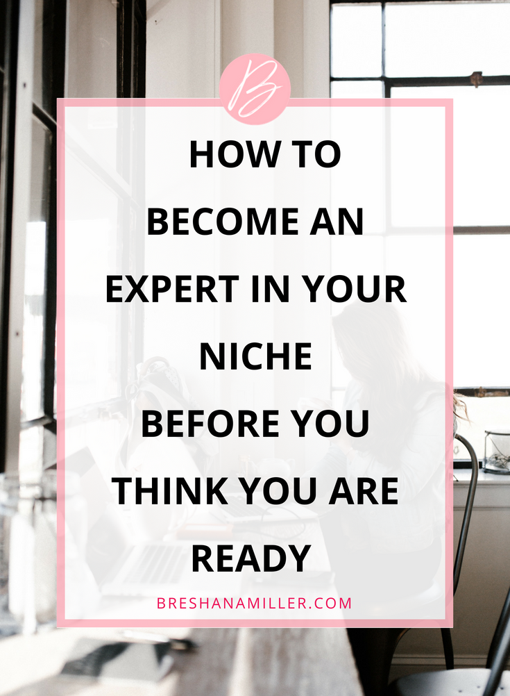 How to be an expert in your niche