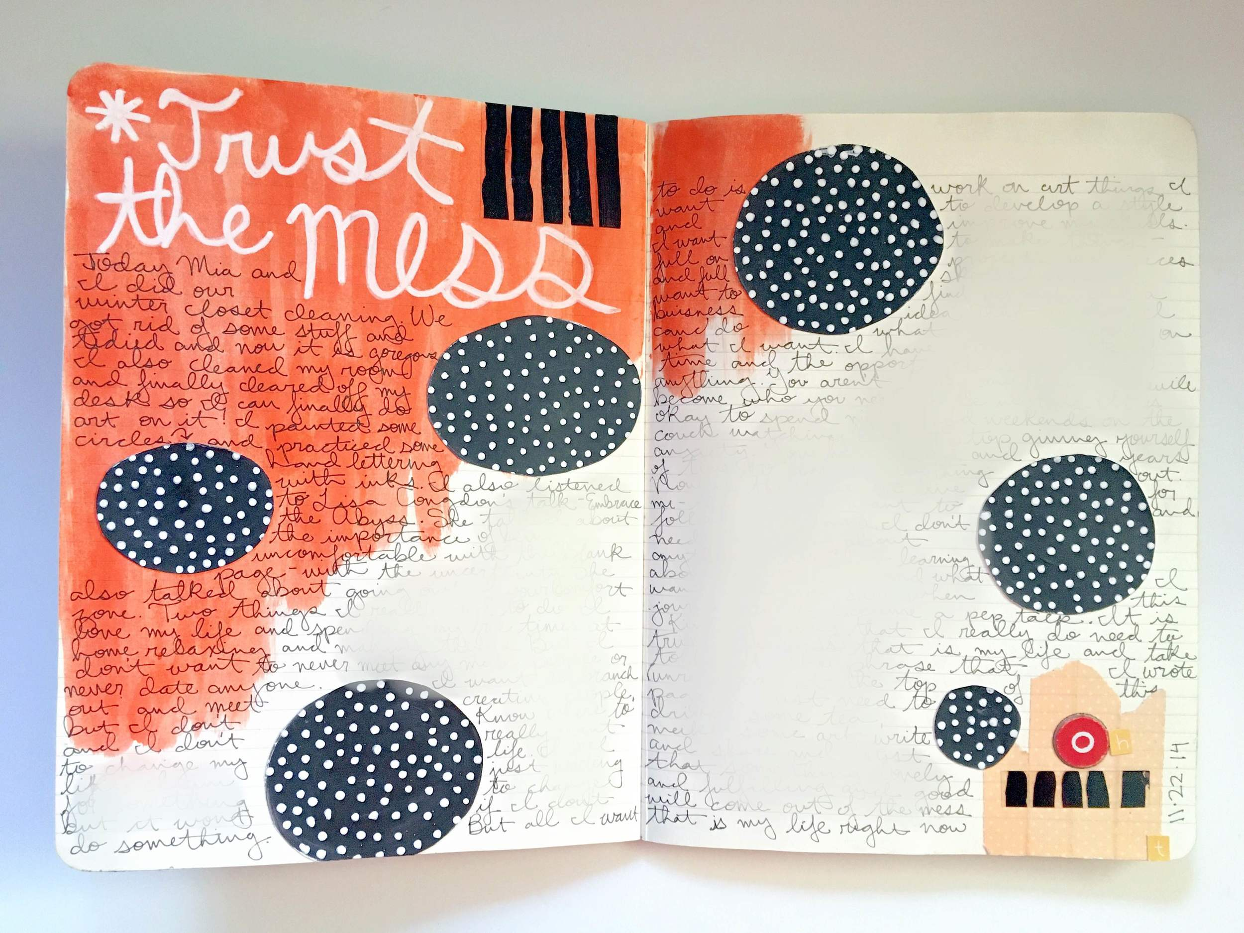 Anything Goes Journal Trust the Mess