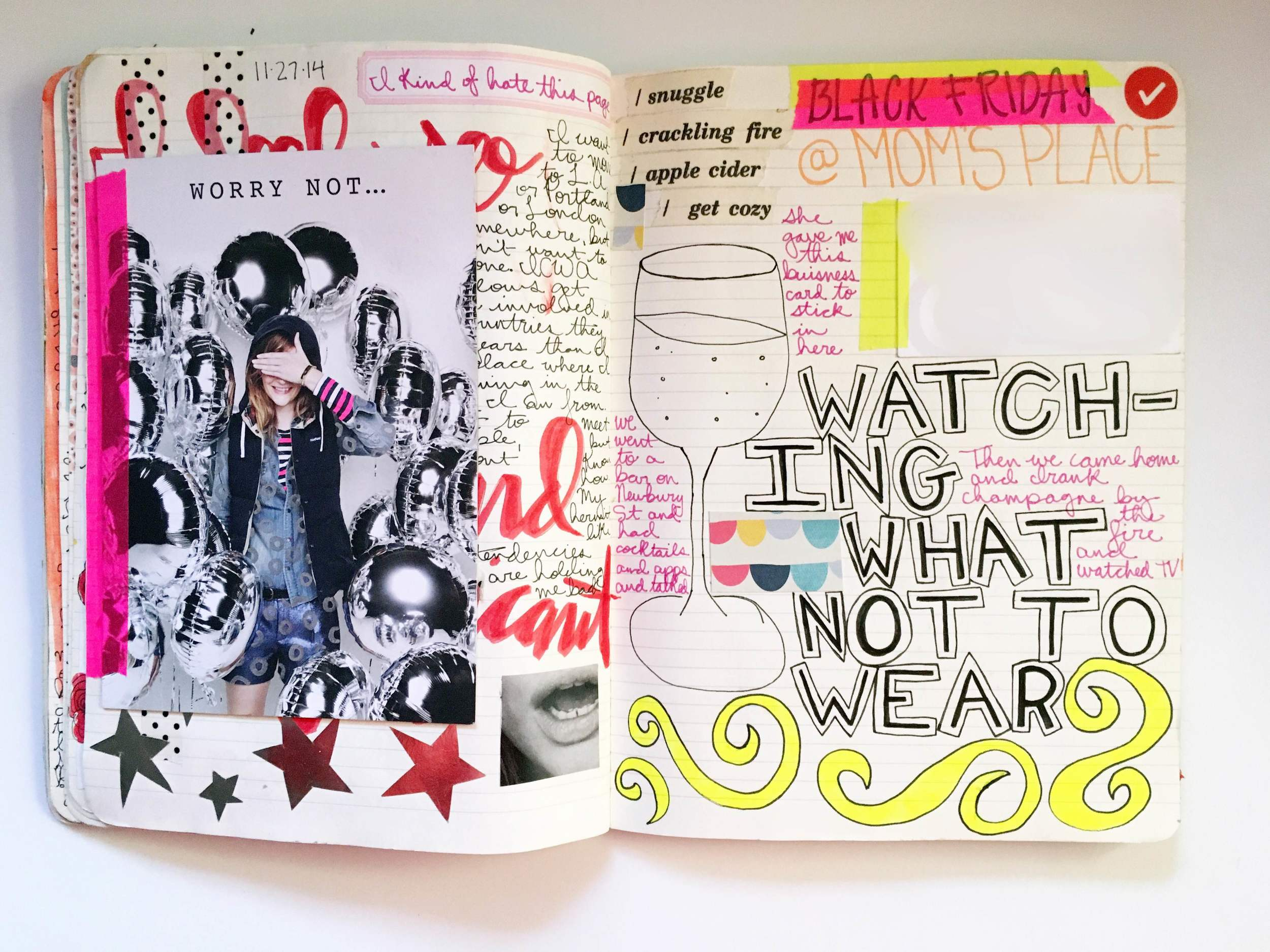 Anything Goes Art Journal Flip Out 1