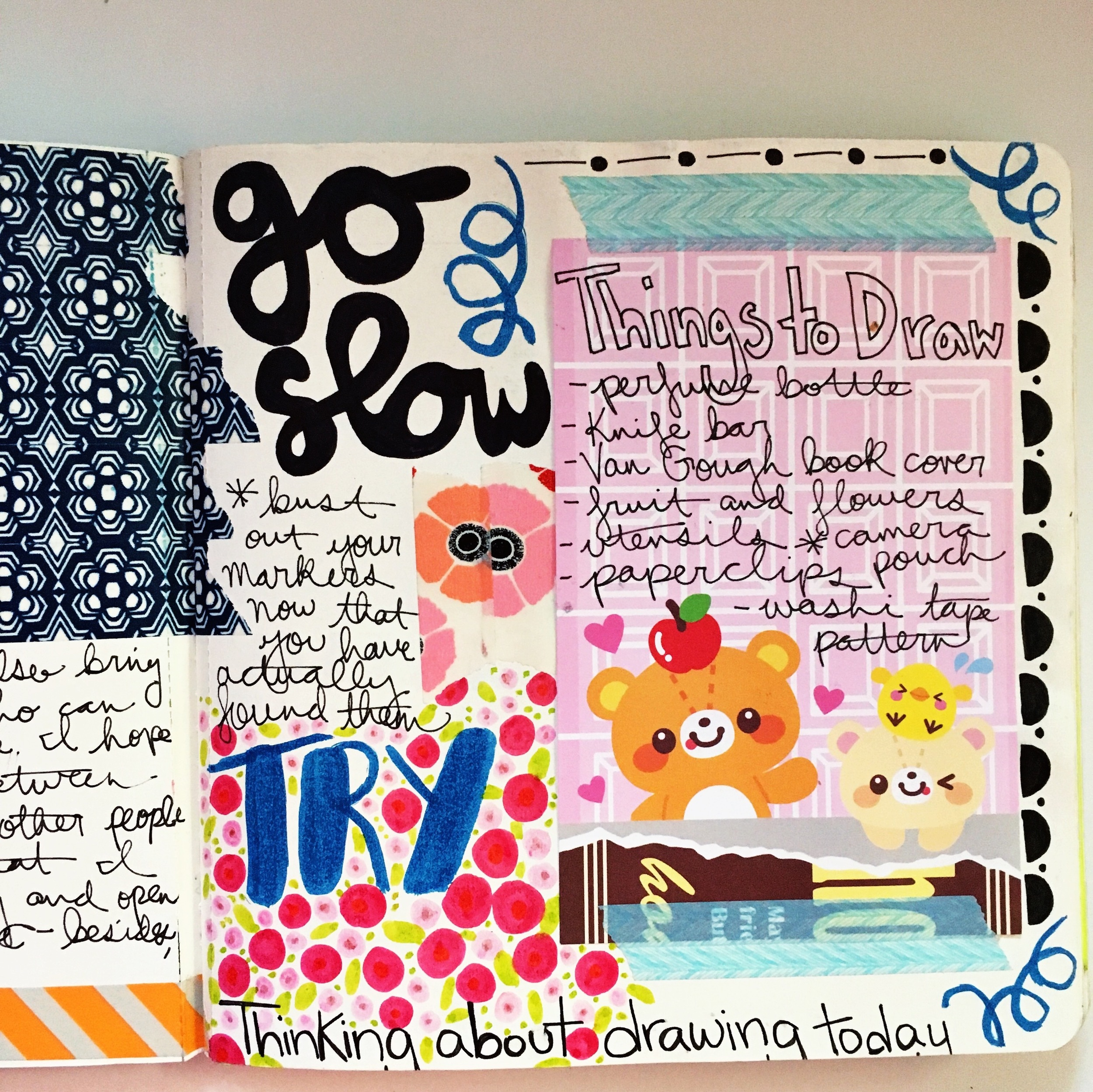 Anything Goes Journal Page