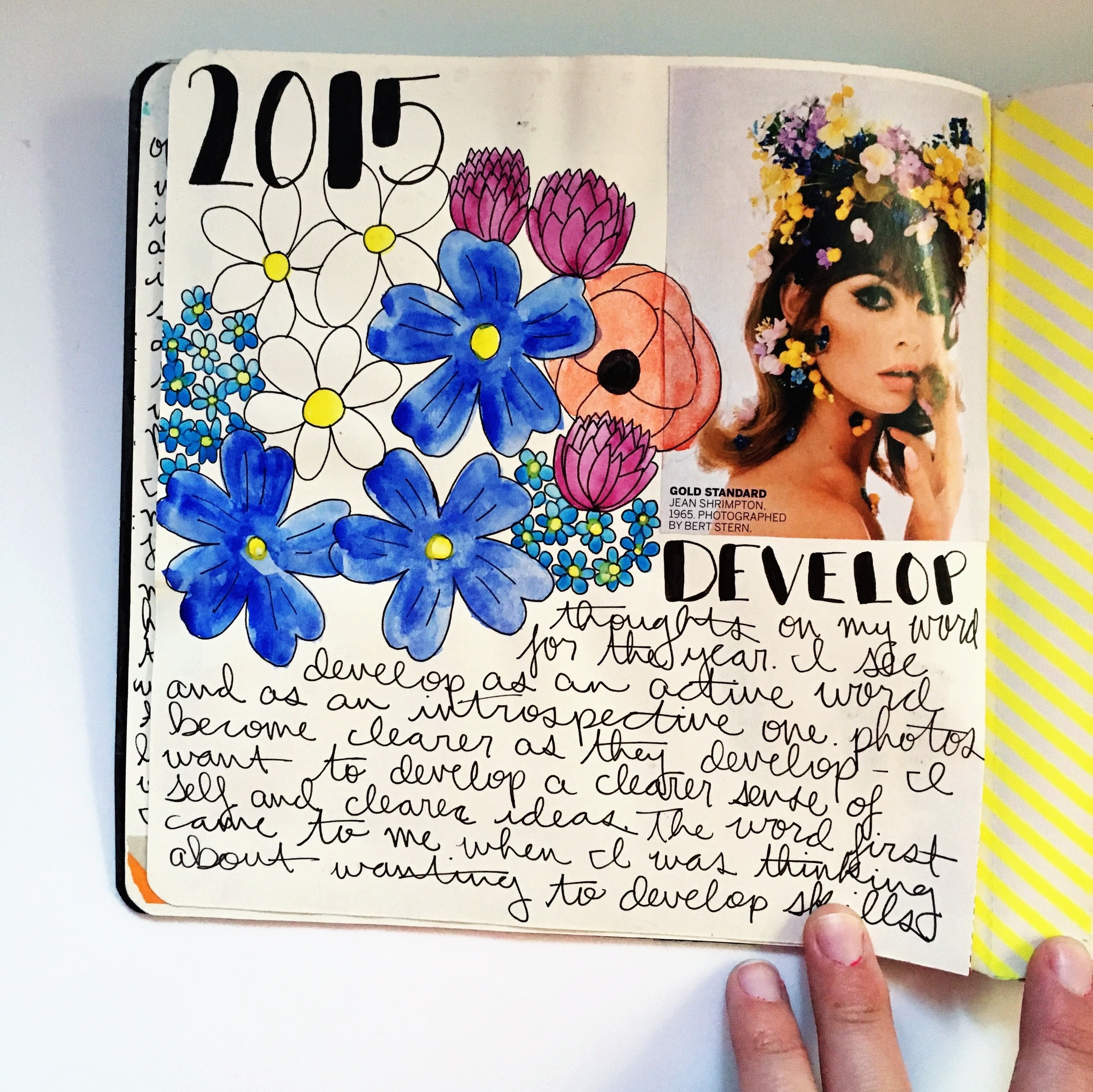 Anything Goes Art Journal Develop