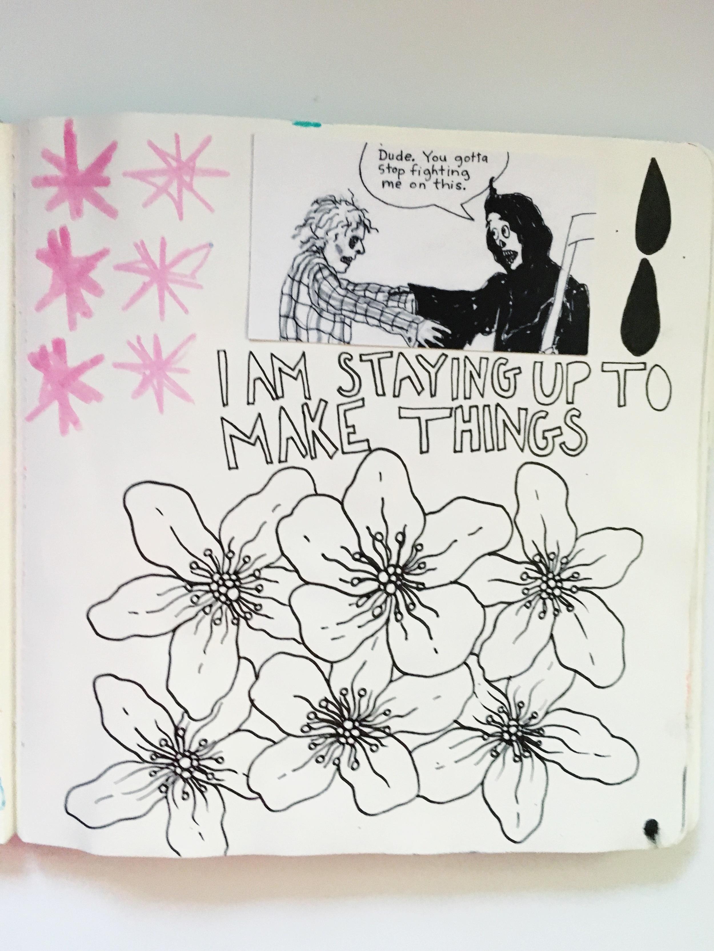 Anything Goes Art Journal Ephemera