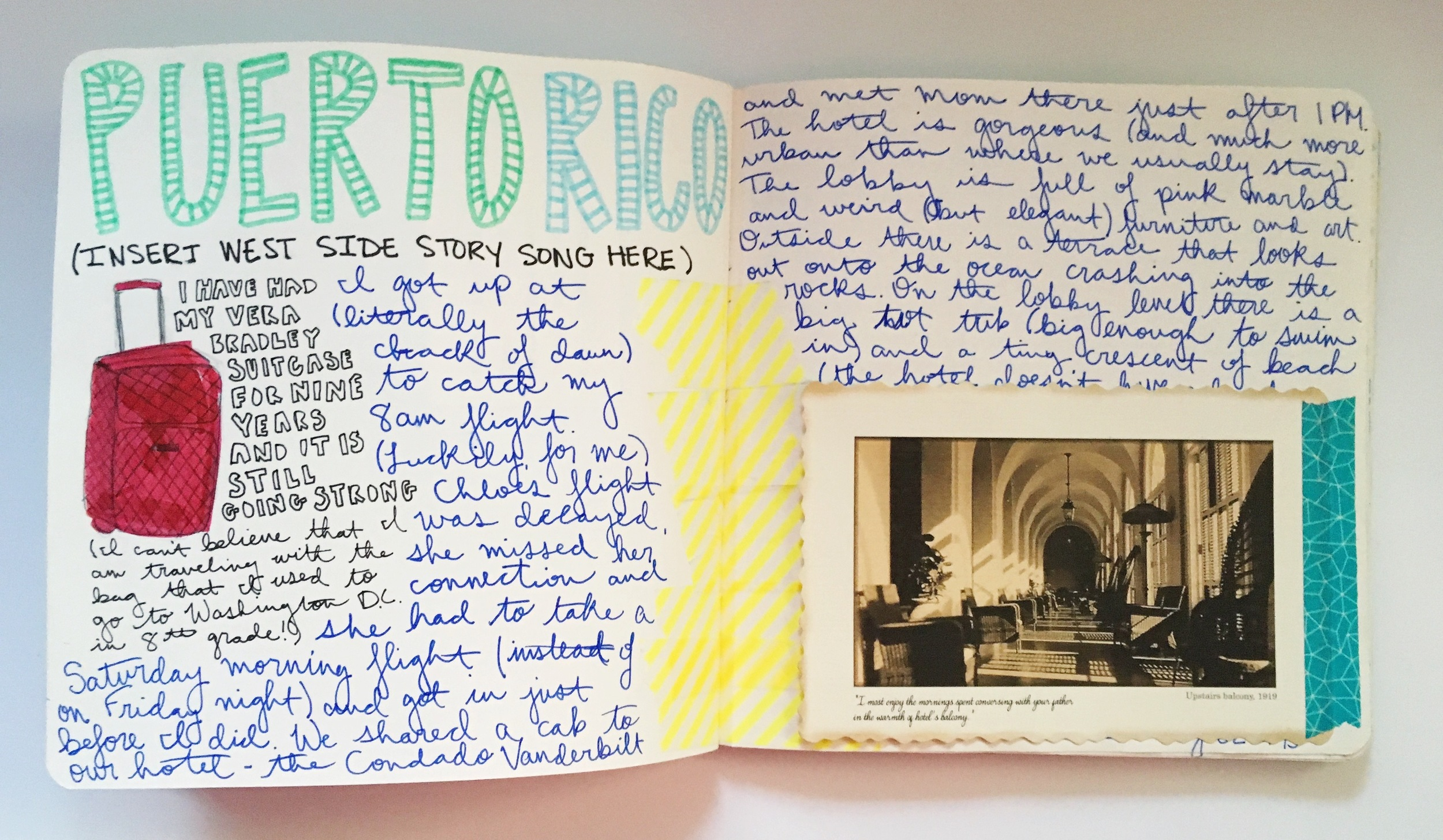 Anything Goes Art Journal Travel