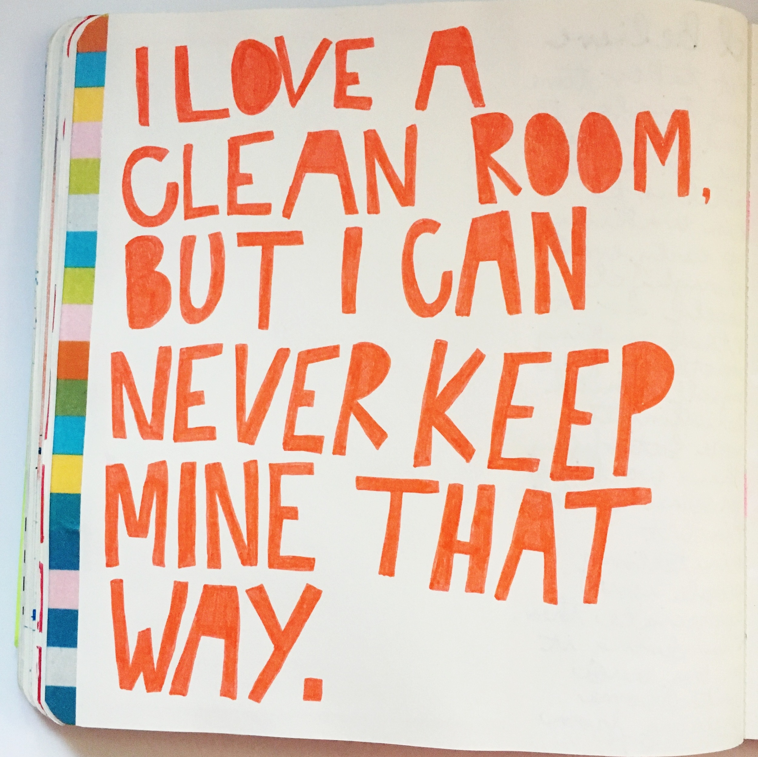 Anything Goes Journal Clean Room