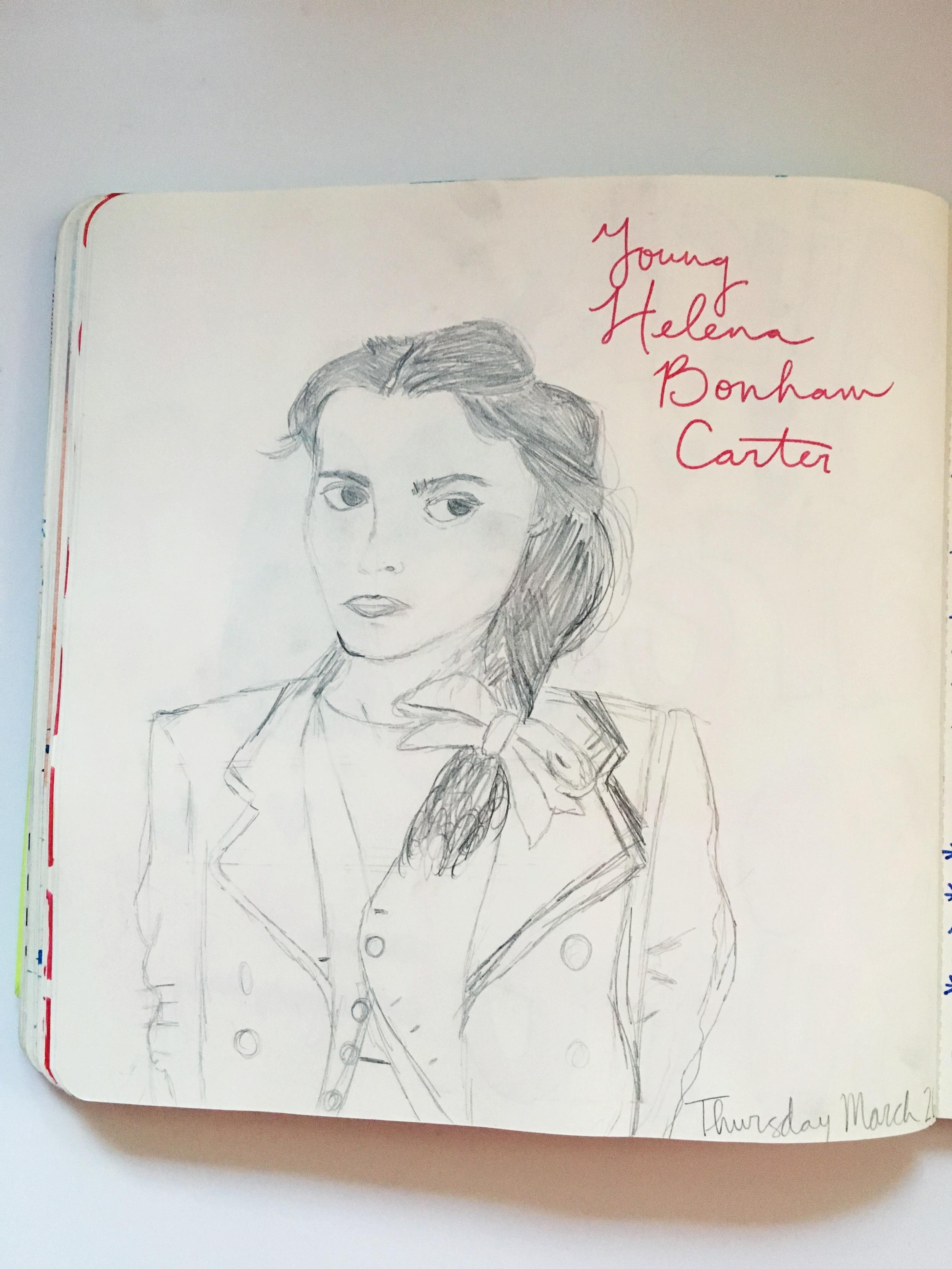 Anything Goes Journal Helena Bonham Carter