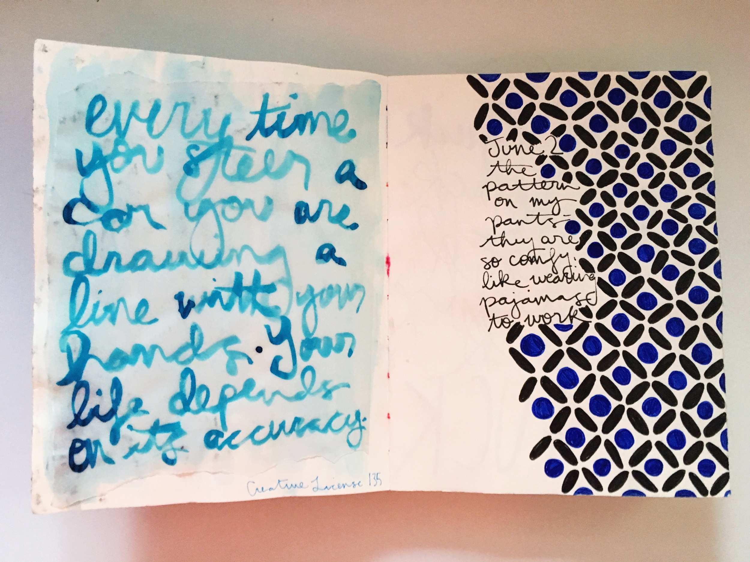 Art Journal Danny Gregory Quote