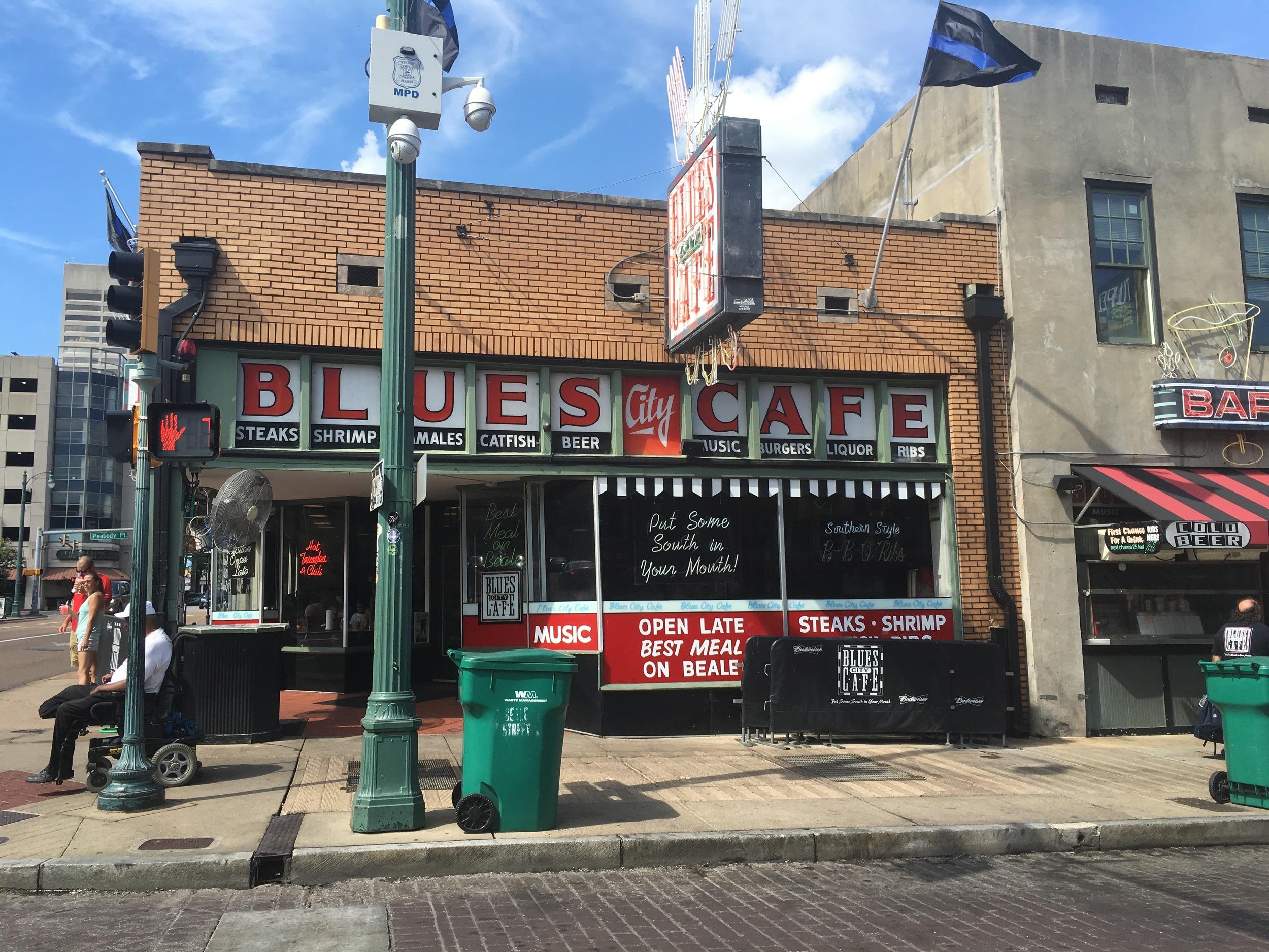 Blues City Cafe Memphis TN