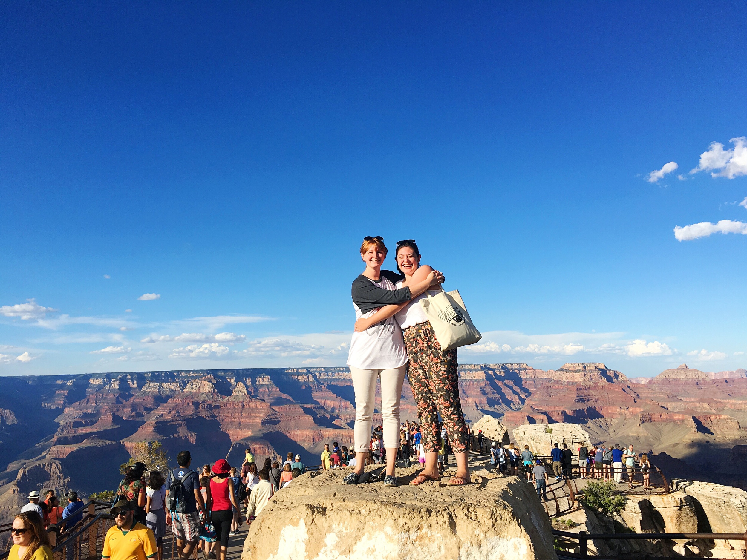 Haley and Hannah Grand Canyon