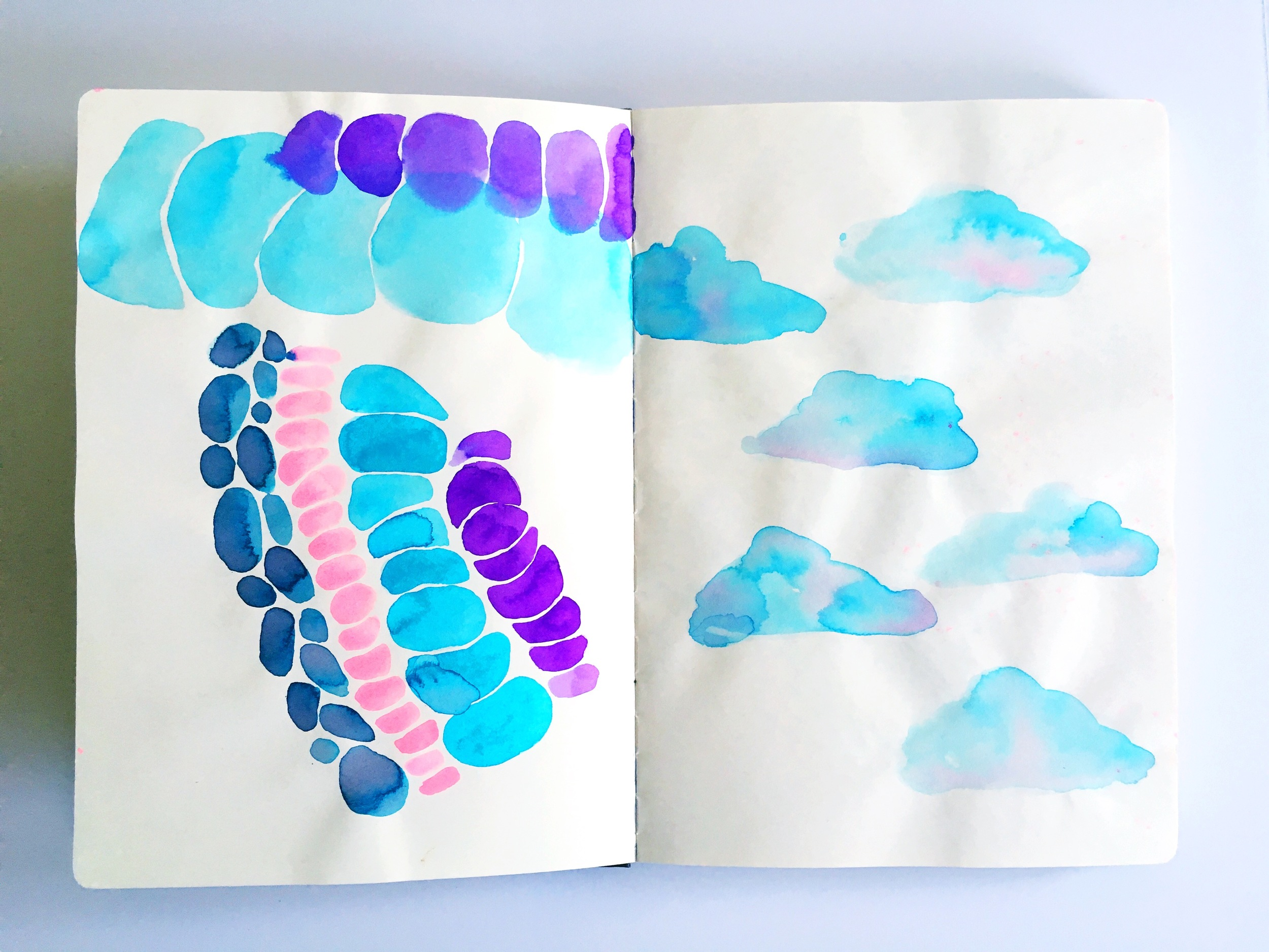 Haley Aubuchon Sketchbook Clouds