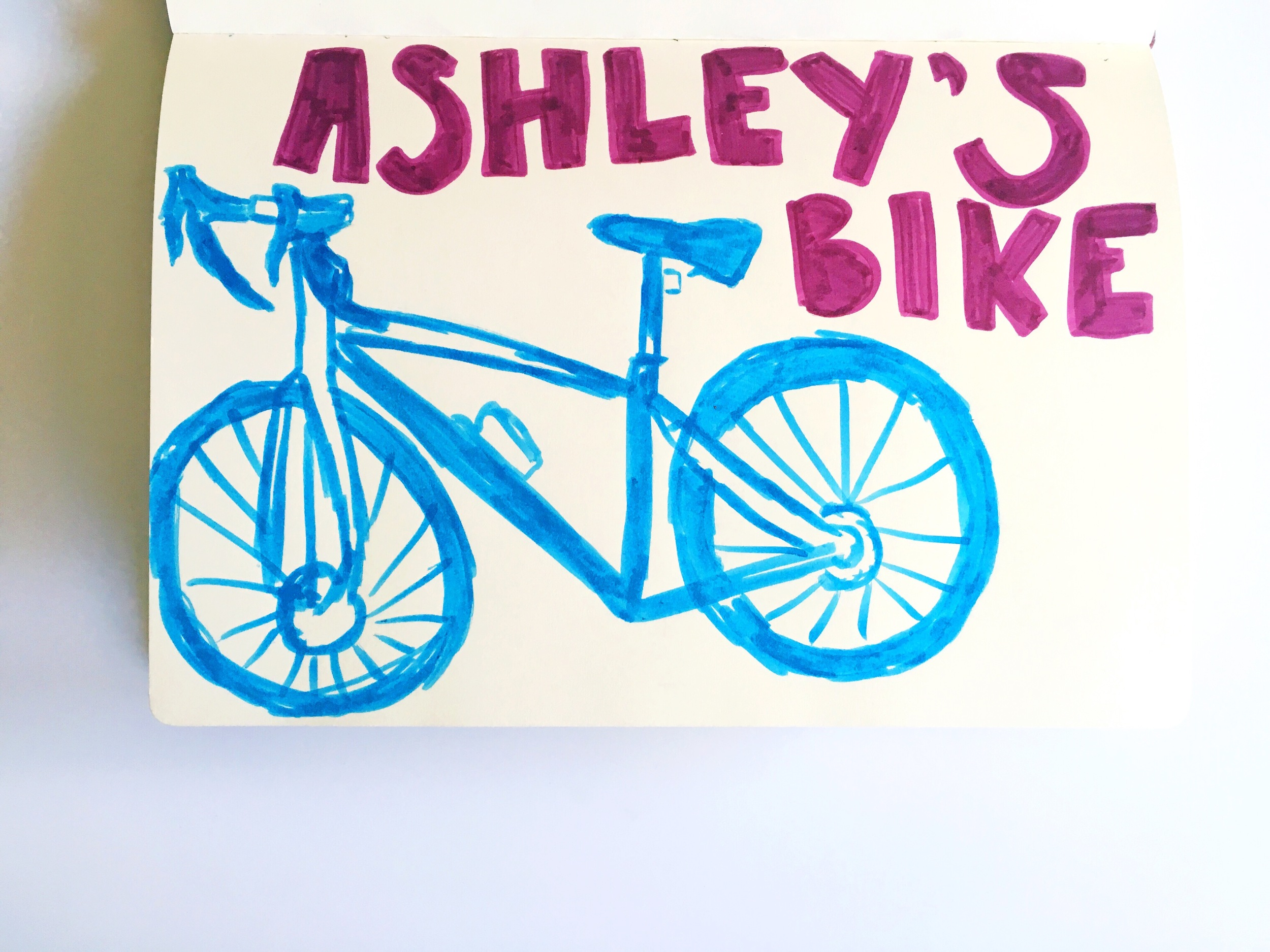 sketchbook bike