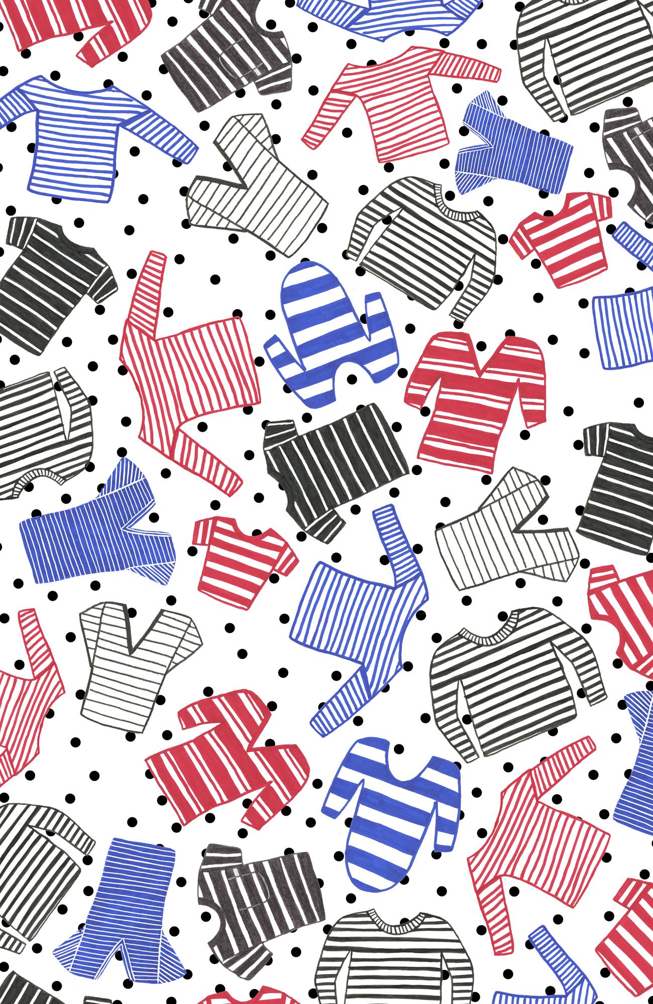 Striped Shirts Pattern Big w Polkas S6 iPhone.jpg