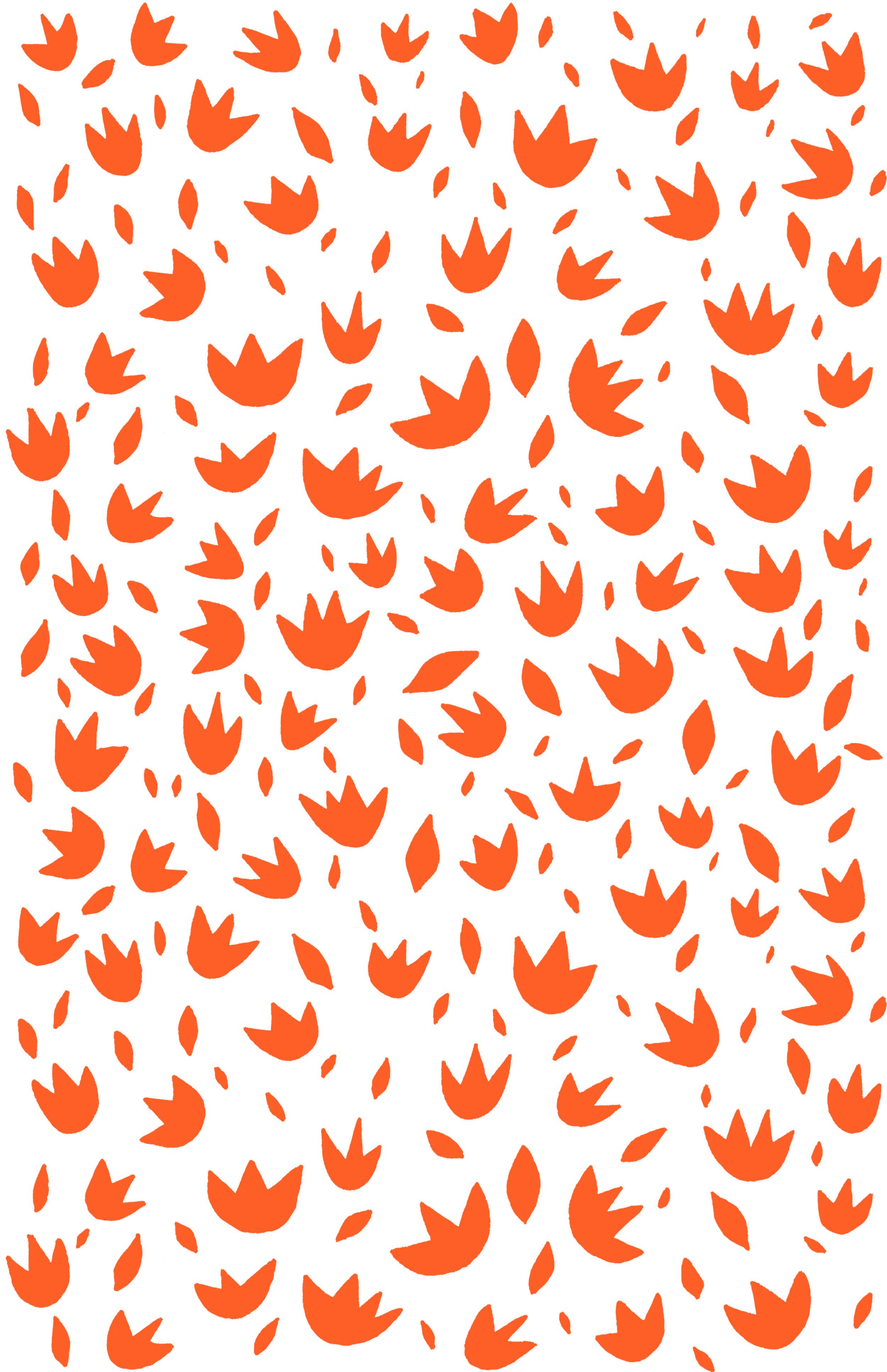 Flowers & Leaves orangey red.jpg