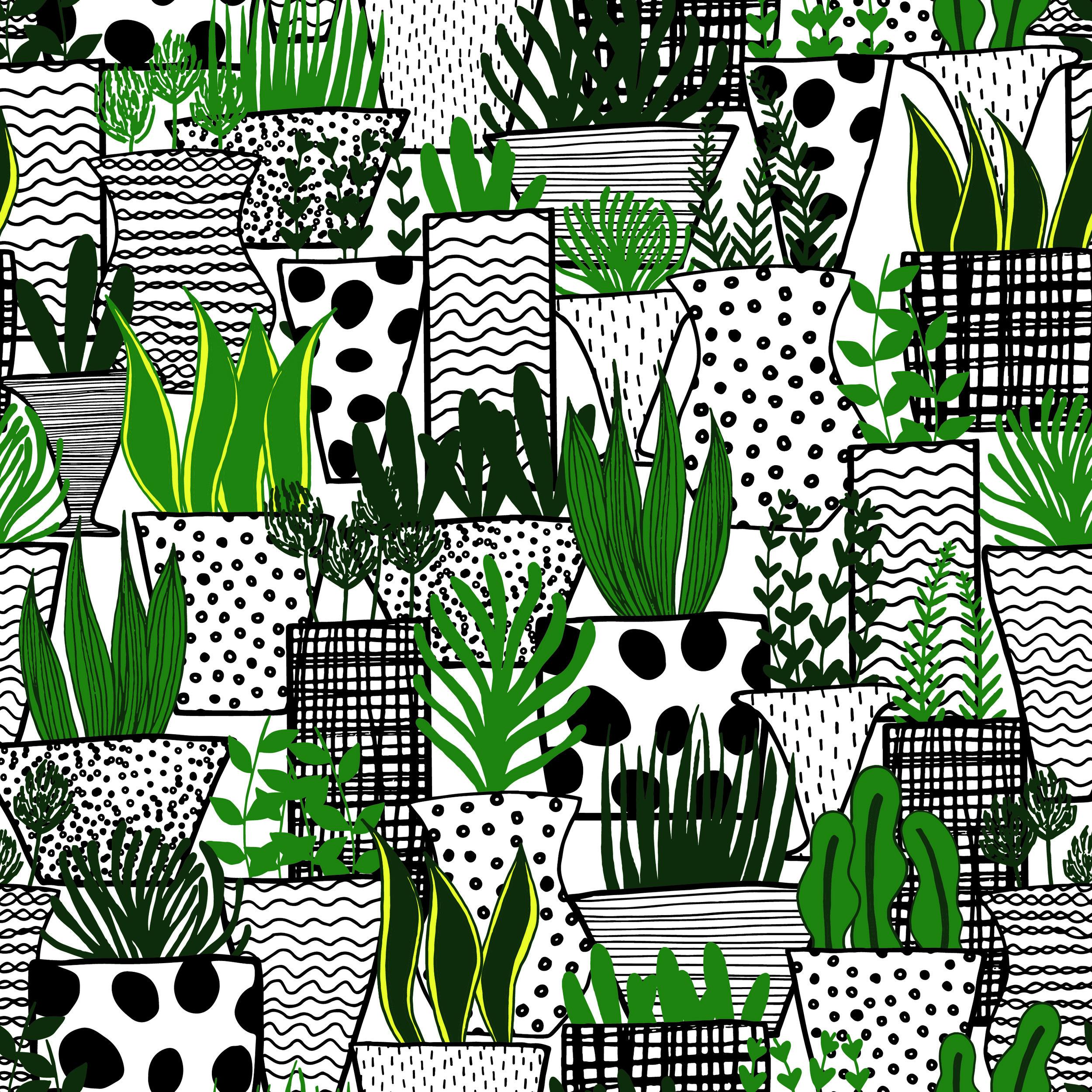 Layered Plants in Pots Pattern.jpg