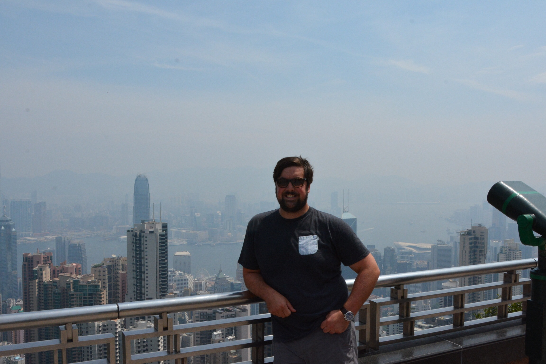 View from Victoria Peak.