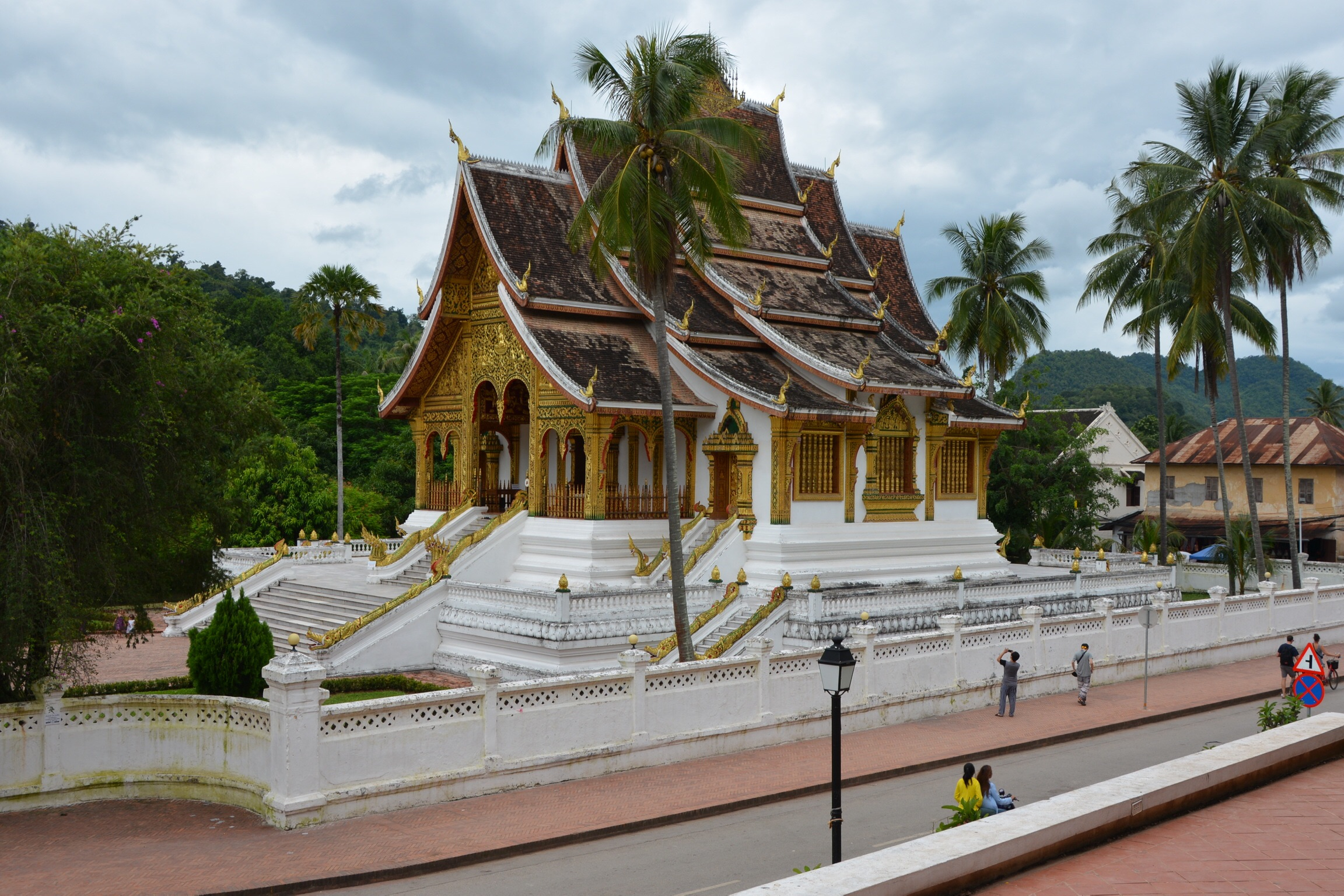 Royal Palace and home of the Phra Bang Buddha.