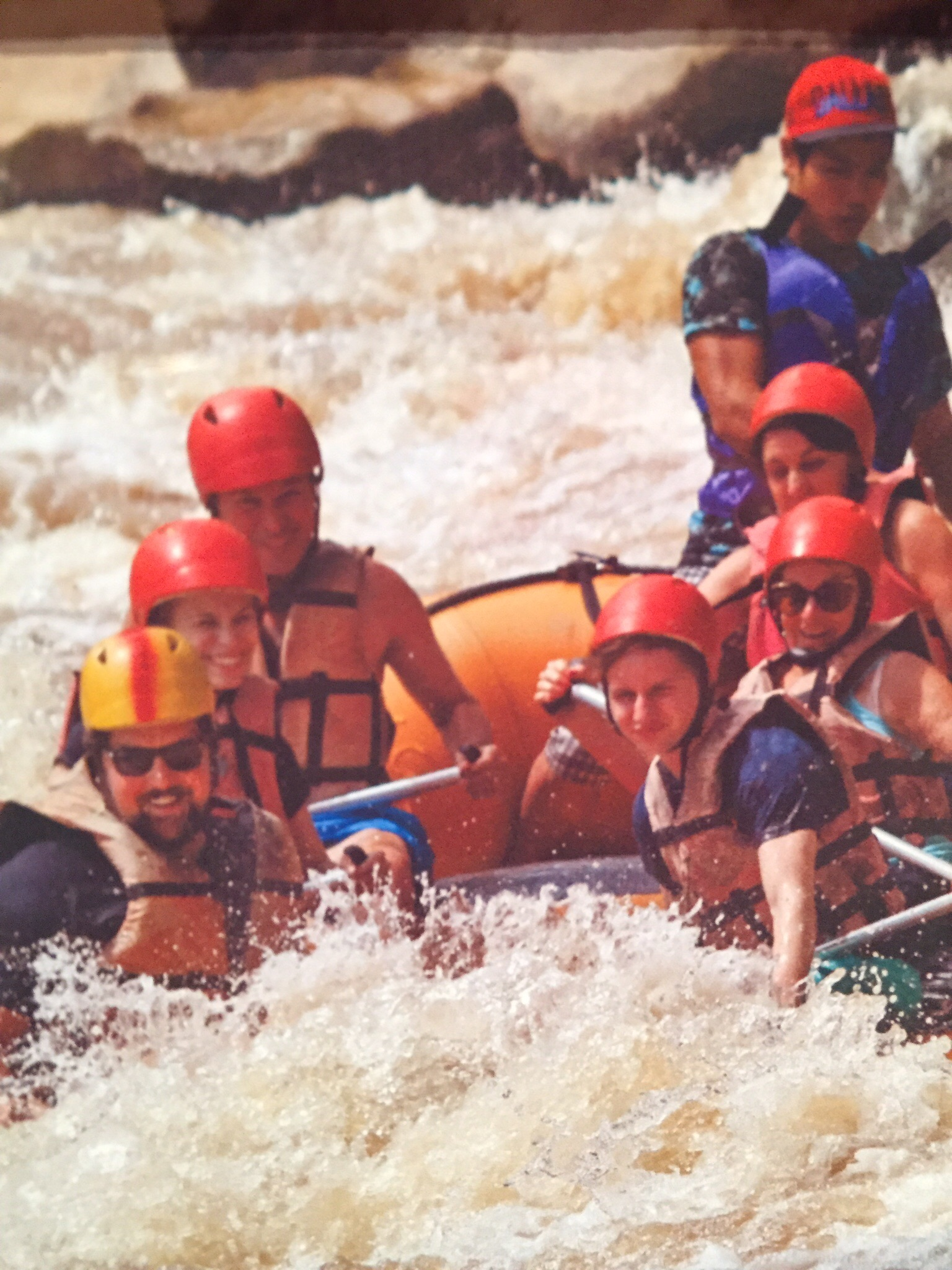 Obligatory white water action shot I pirated from the tour company.