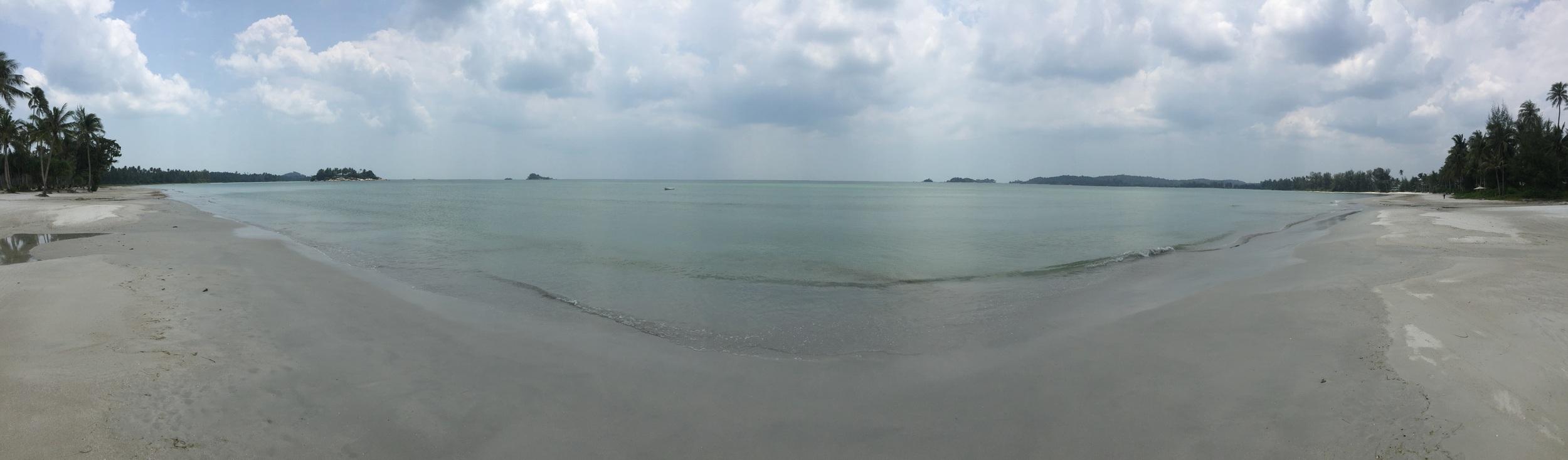 The beach at Bintan.