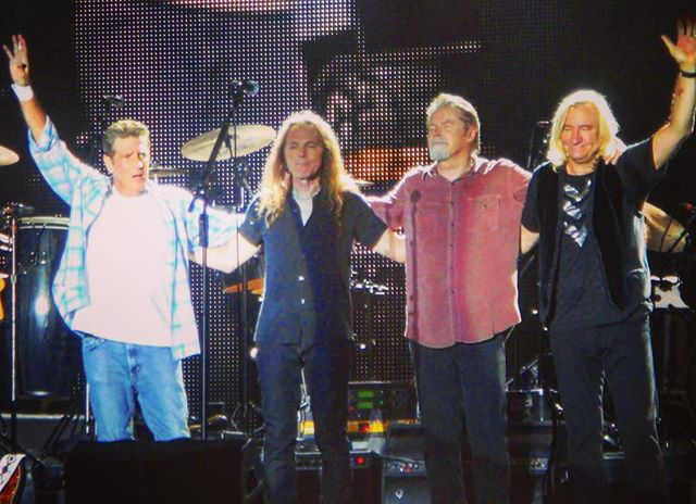 Eagles and #GlennFry at ACL 2010.  Sad news. Truly one of the best acts ever.