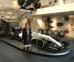 Helen at ABP Women's Automotive, Williams F1 HQ