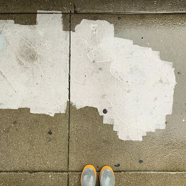 rainy morning discoveries, places i've never been :) what are they called? where are they? there's even a capital city ❤️ sf mission sidewalks, i love you