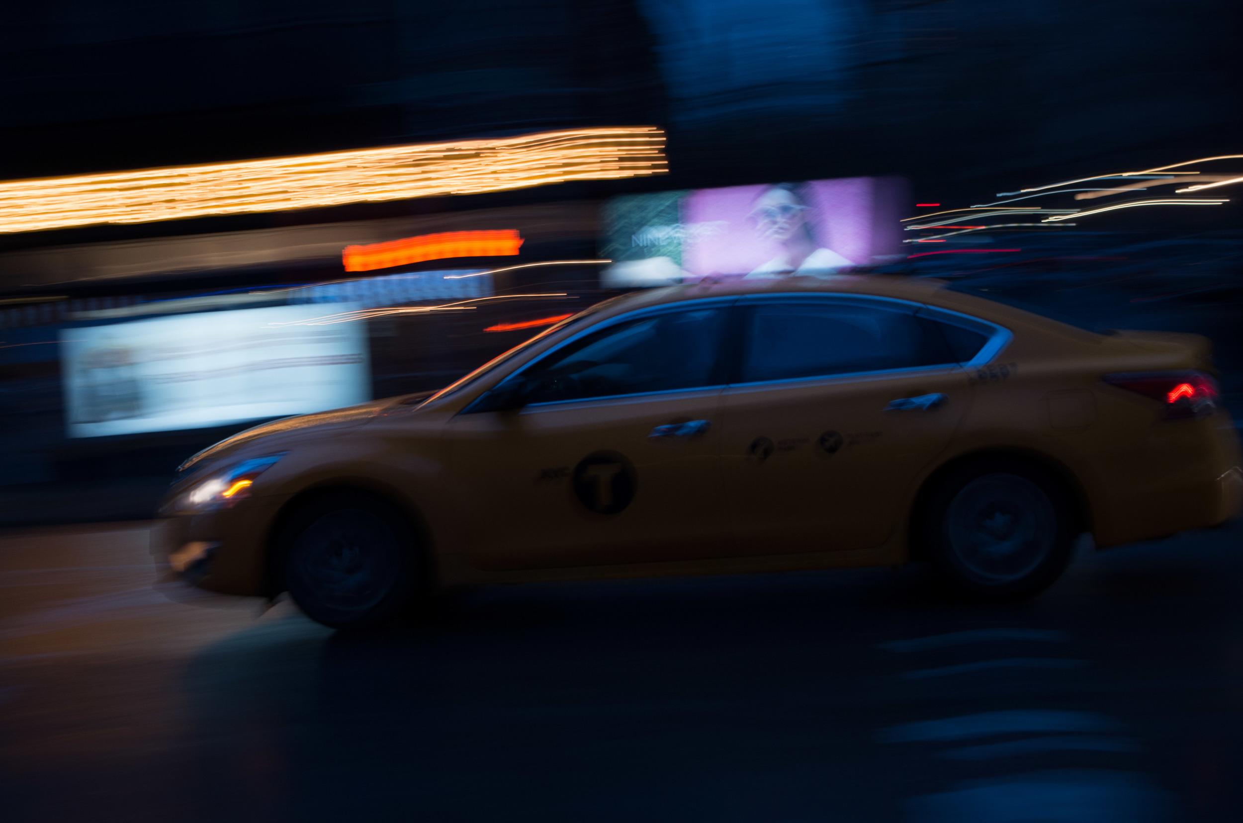 Untitled: NYC Cab | 4.11.16