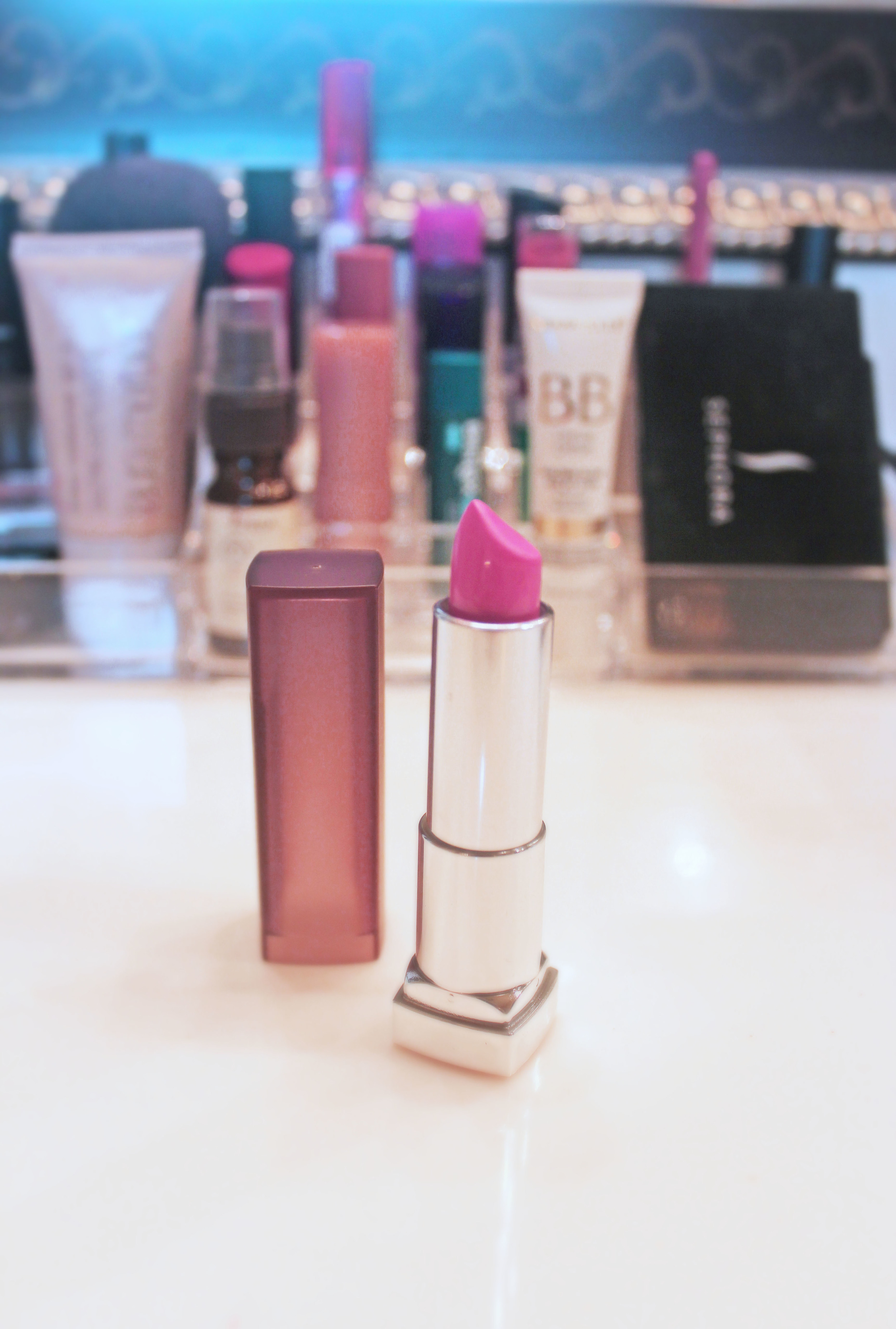 """best girly pink:      Maybelline Color Sensational Creamy Matte Lip Color in """"Pink n Chic""""     This is my go-to when I'm feeling girly or have anice summer tan. When I'm pretty pale in winter months, it tends to wash me out so I stick to this as a summery shade."""
