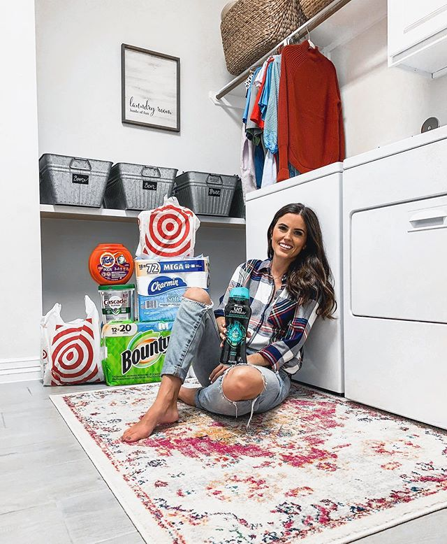Stocked up on so many of our most-used products at Target! Y'all know I can't resist a Target run and there's such a great deal going on right now (until 9/21): You'll receive a $15 Target gift card with any $50 purchase of qualifying @tidelaundry, @boutypapertowels, @charmin, @swiffer, @downy, and @mycascade products. Time to load up and collect an extra $15, ladies! Especially while the Dollar Spot is full of all things fall :). Now who wants to come help me fold laundry? #ad #AvailableatTarget