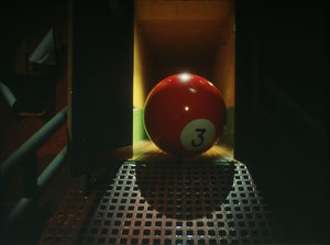 The Red Pool Ball