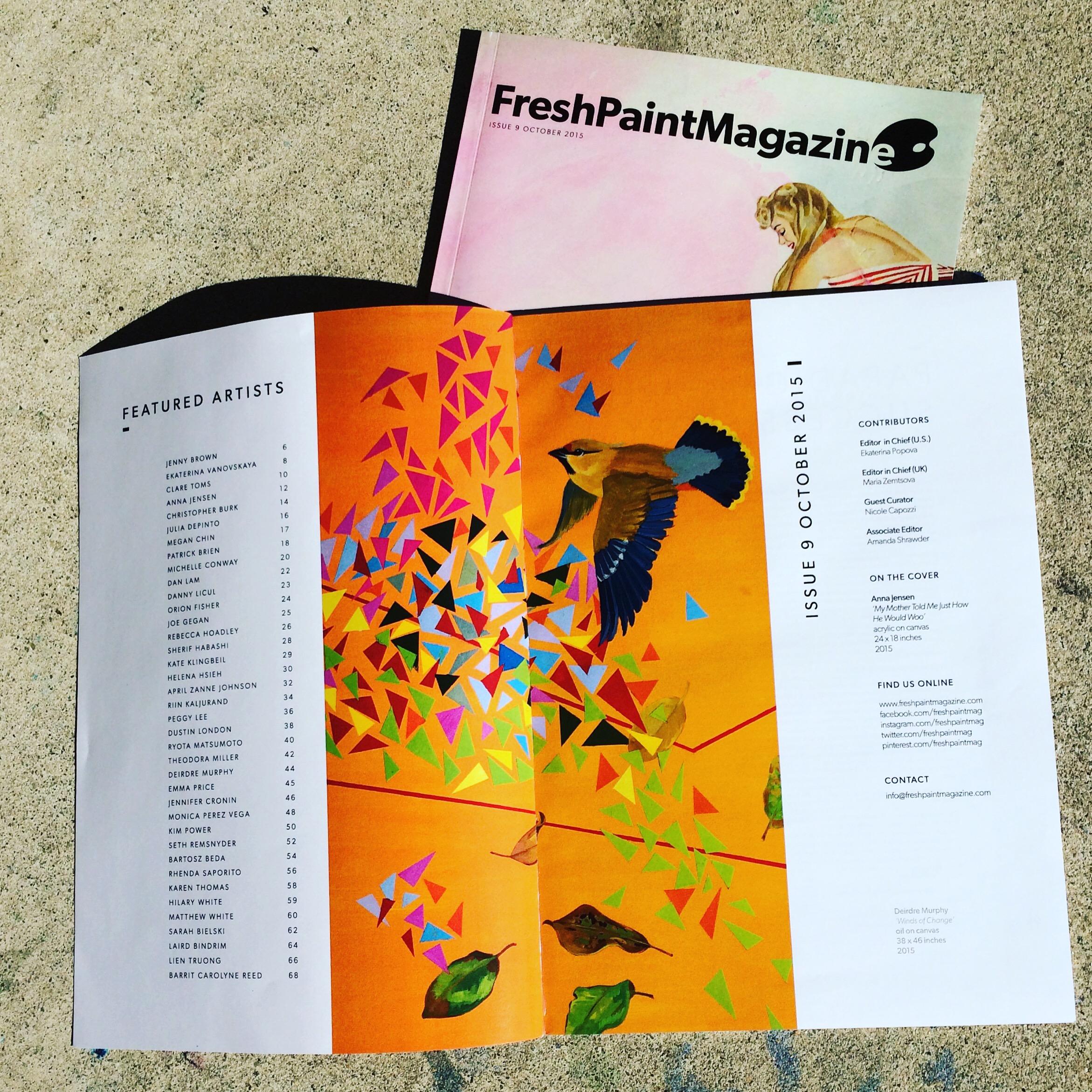 Fresh Paint Magazine, Vol 9, 2015