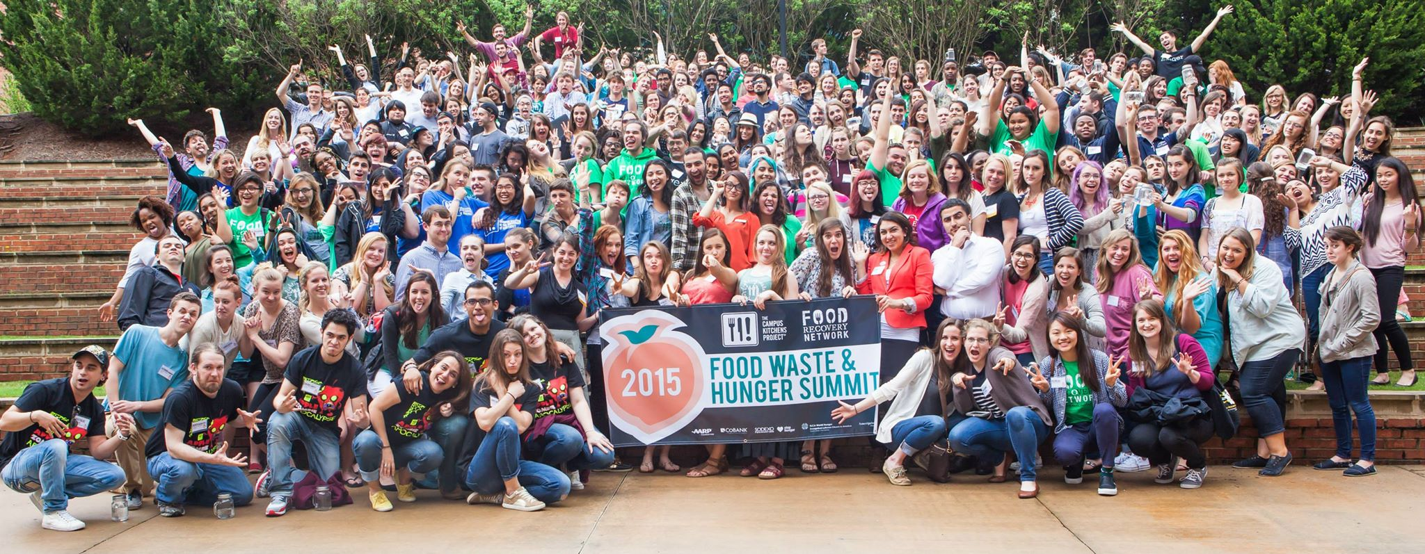 Our FRNds at last year's Food Waste & Hunger Summit in Athens, Georgia.