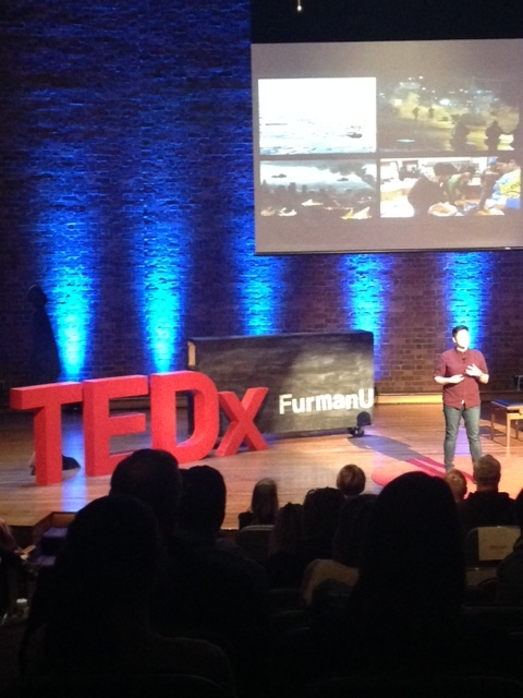 "TEDx Furman University ""From Couch to Community: How to Turn Ideas into Movements"""