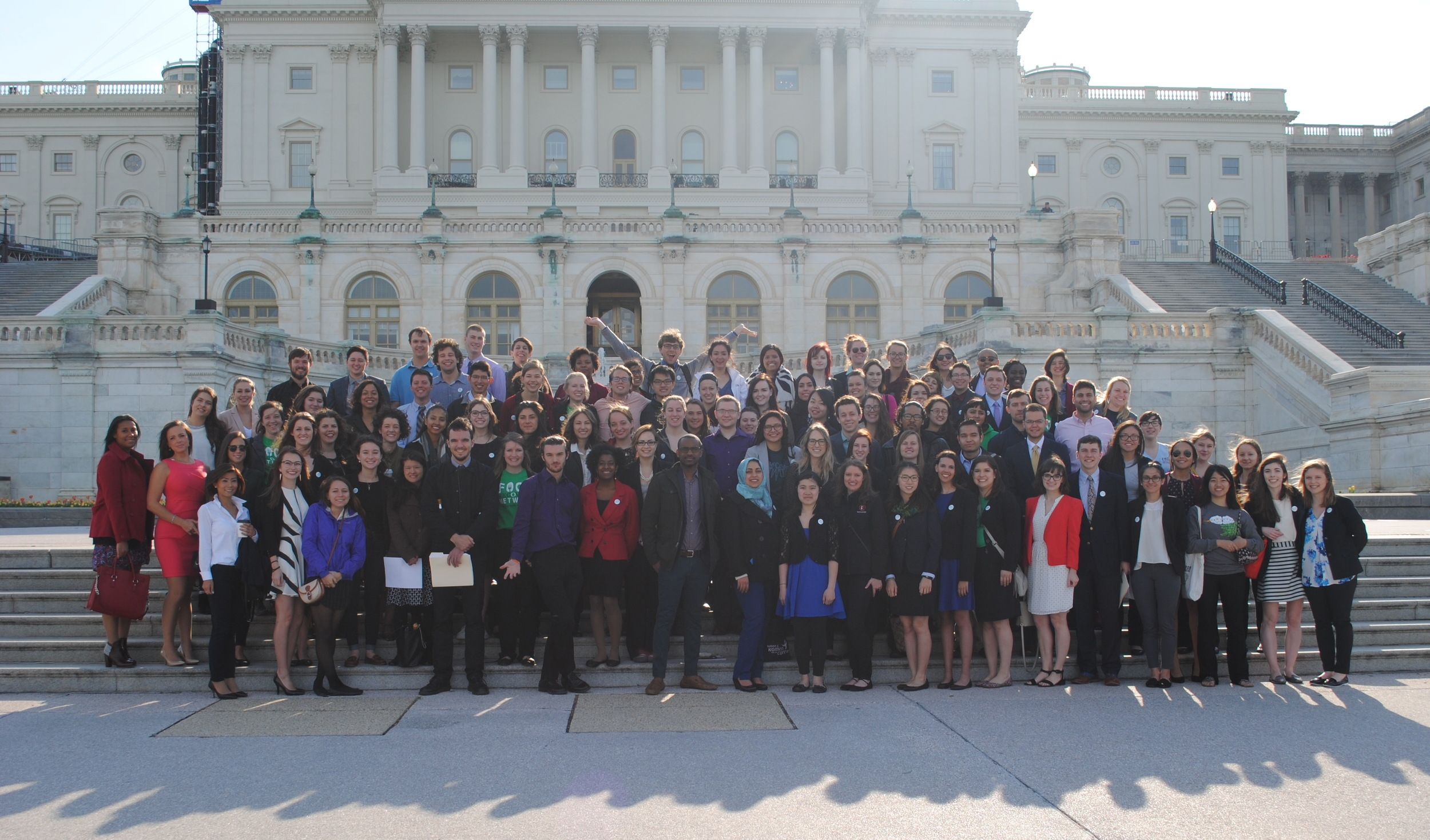 FRNds on Capitol Hill for FRN's first-ever Lobby Day in April 2016.
