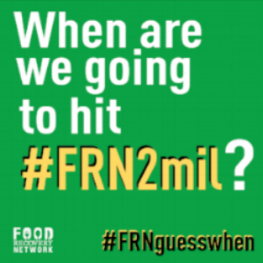 Use #FRNGuessWhen for the chance to win a swag bag!