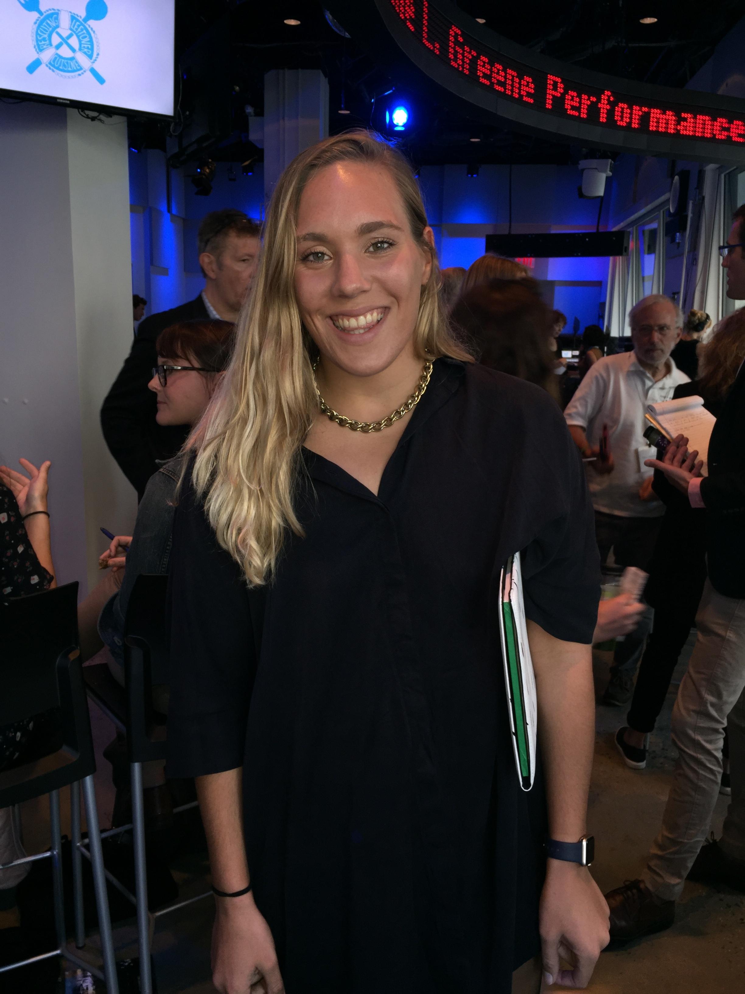 SAAB Member, Kirsty Hessing