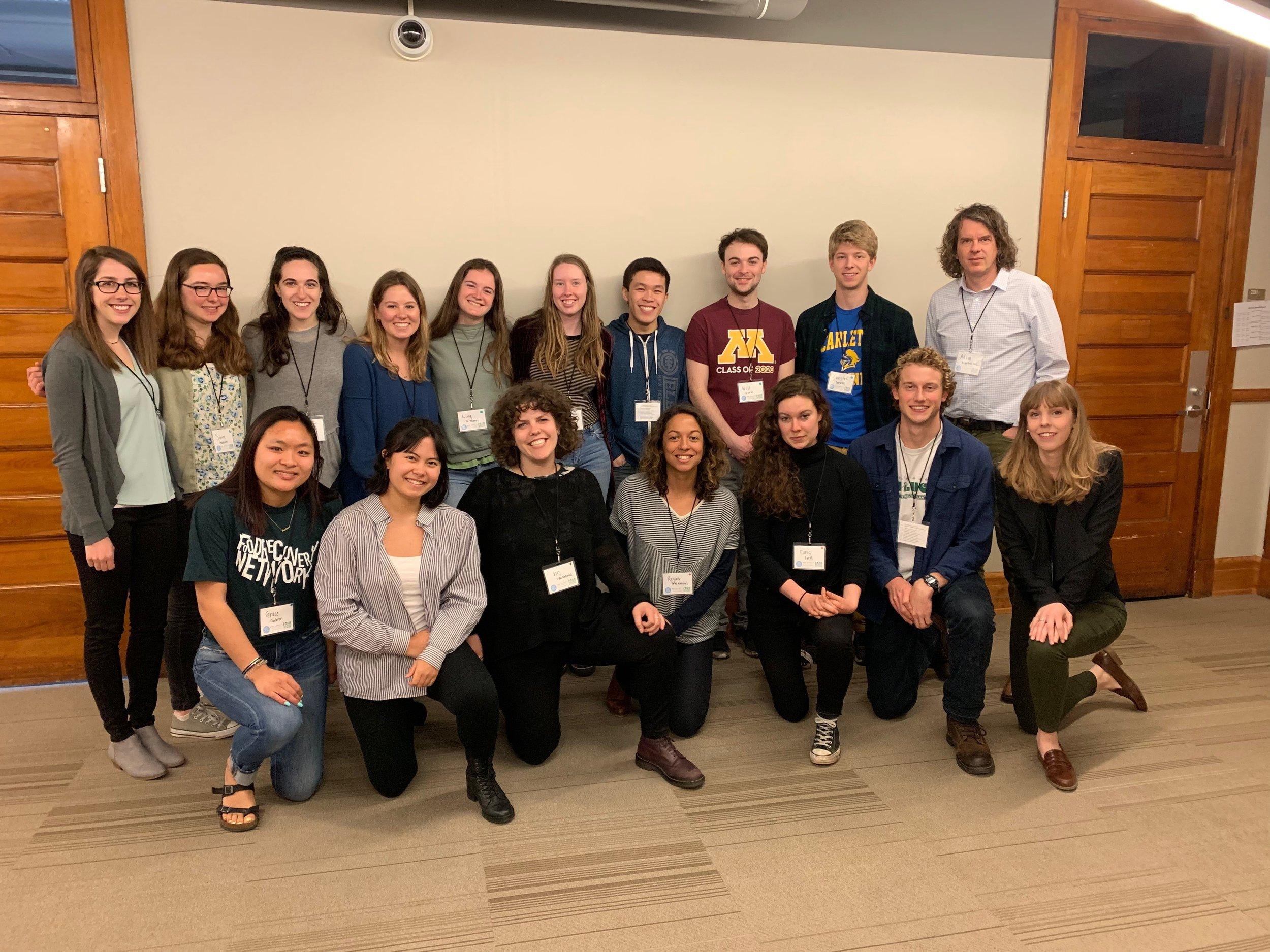 Minnesota Regional Summit attendees.