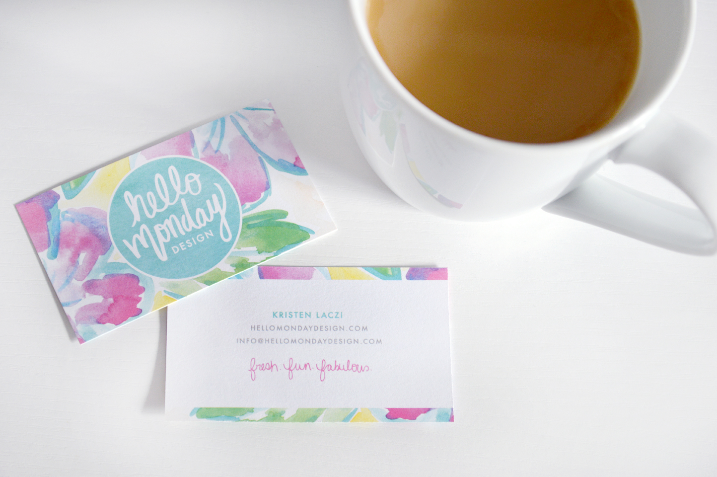 Hello Monday Design - New Business Cards