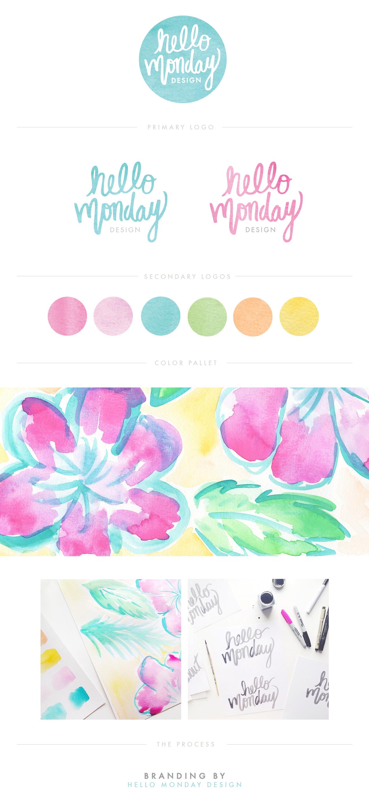 Hello Monday Design - Brand Identity
